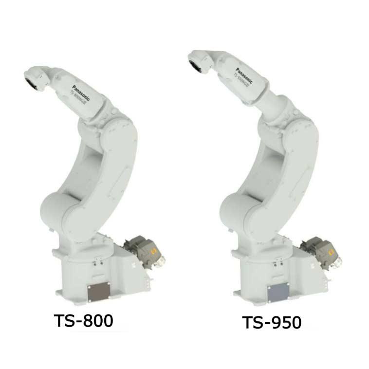 Robot cooperativo panasonic lineas TS-800 y TS-950